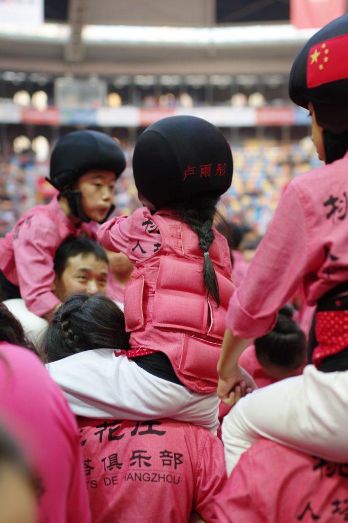 Els Xiquets de Hangzhou han dissenyat unes proteccions especials per a la canalla